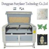 Machine de découpage de première qualité de laser de cuir avec 128m