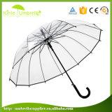 열려있는 좋은 품질 자동차 23inch x 16K 투명한 우산