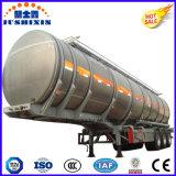 Del combustible del petrolero buque de petróleo del transporte de la gasolina del acoplado 40000L semi