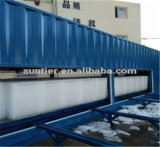 30t Block Ice Machine with a 40 '' container