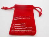 Bolsa pequena do presente do Drawstring de veludo, malote de embalagem (GZHY-dB-003)
