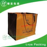 Sacchetto non tessuto di acquisto stampato marchio promozionale con la forte maniglia