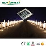 luz subterráneo cuadrada de 3W IP67 LED