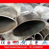 平らな楕円形のステンレス鋼の管(430 316Ti 310S 904L 321)