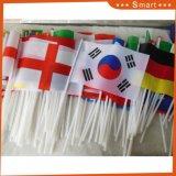 各国用手のフラグを振るワールドカップの工場直接習慣