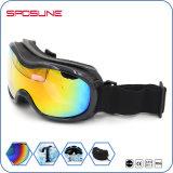 Lunettes faites sur commande de ski de protection du ski UV400 de neige dans la lunetterie de sport