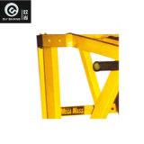 De plaat Geladen Apparatuur Sprots van de Machine Osh004 van de Bank van de Daling van de Sterkte ISO van de Hamer Zij