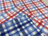 Проверка покрашенная пряжей хлопка Shirting Fabric-Lz8609