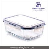 Cuvette Suppiler (GB13G49125) de déjeuner en verre de Borosilicate