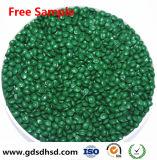 Grüne Farbe TiO2 Masterbatch für Rohr-Einkaufen-Beutel