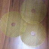 Maille renforcée par fibre de verre de qualité pour la meule
