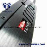 Téléphone mobile portatif de 5 antennes et brouilleur de GPS (GPS L1, GPS L2, GPS L5)