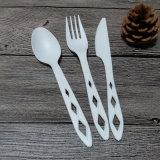 Cuchillería segura biodegradable del PLA de la cuchillería disponible abonable de los utensilios