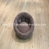 Base de enchimento cinzenta do gato do projeto da fonte do animal de estimação da base da casa do gato das bases do cão de animal de estimação