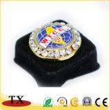 A polícia do Pin da etiqueta da lembrança do metal da decoração Badge para o presente da lembrança