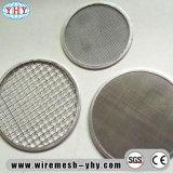 Filtres réutilisables d'acier inoxydable