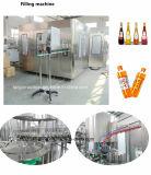 オレンジJuicer新しいジュースの瓶詰工場ペット瓶ガラスのびんを完了しなさい