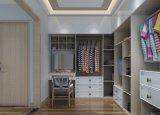 Garde-robe en bois stratifiée moderne de chambre à coucher de porte coulissante