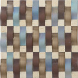 2017 Form-Entwurfs-Marmor-Mosaik-Stein-Fußboden-Fliesen