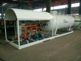 station de dérapage de réservoir de LPG assemblée par 10cbm