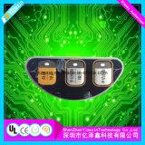 Domo de alta calidad de plástico Pulse el botón interruptor de membrana
