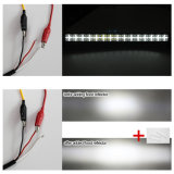 12V 24 볼트 방수 4X4 LED 표시등 막대를 달리는 9d 천사 눈 22 인치 120W LED 주간