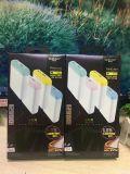 工場ユニバーサル充電器太陽電池パネルLEDライトが付いているスマートな携帯用力バンク12800mAh