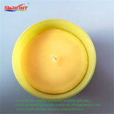 Candela di vetro del vaso del piccolo profumo giallo del girasole per la promozione