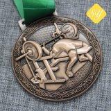 Оптовая торговля профессиональные награды высокого качества металла с маркировкой медалей