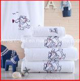 中国の工場刺繍のロゴの昇進のホテル/ホーム綿浴室/浜/表面/手タオル