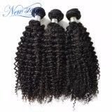 Бразильские Kinky курчавые волосы девственницы 3 волос пачки человеческих волос Weave Unprocessed