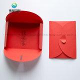 Stampa della busta del regalo della scheda rossa della busta stampata commercio all'ingrosso su ordinazione di marchio mini
