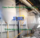 Máquina cruda del refino de petróleo de la refinería del petróleo refinado del petróleo vegetal