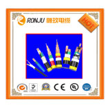 5 prix fluctuant de fil électrique de double gaine des faisceaux 1mm