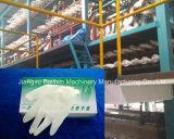 La fabricación de guantes médicos Color maquinaria Guante guante de látex de la línea de producción