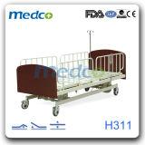 Plein de rambardes latérales réglables hôpital de soins à domicile électrique avec ce lit patient&ISO