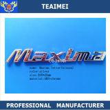 Значок письма автомобиля Nameplate Nissan Maxima логоса автомобиля