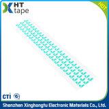 Double bande électrique adhésive imperméable à l'eau dégrossie portative d'isolation