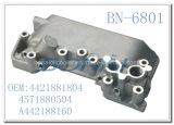ベンツアルミニウムエンジンオイルクーラーカバー自動車部品(OEM: 4421881804/4571880504/A442188160)