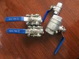 Materielles Schweißungs-Kugelventil Pn64 des Kolben-316