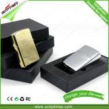 Isqueiro recarregável do USB do arco duplo do metal da fábrica em cores de Defferent