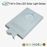 12W Ce & RoHS Certificado Nuevo Tipo All in One LED Luz de calle solar