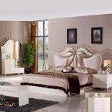 La mobilia antica della camera da letto ha impostato con la doppia base (3381)