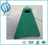 cône en plastique de pyramide de PE de 90cm