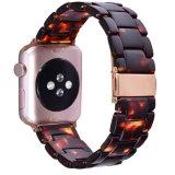 De nieuwe Riemen van het Horloge van de Hars van het Patroon van het Ontwerp Marmeren voor de Band van het Horloge van de Appel, voor de Riem van de Band Iwatch