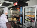 2 Tellersegment-elektrischer Ofen der Plattform-4 mit 10-Tray Proofer seit 1979