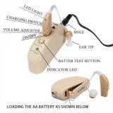 Усилителя усилителя слуха, тональнозвукового/ядрового с перезаряжаемые батареей