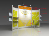 De modulaire Tribune van de Vertoning van het Aluminium van de Cabine voor Tentoonstelling
