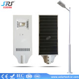 Manufacturer 20W 30W Integrated solarly LED Street Light Price cunning