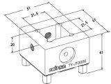 ホールダーを締め金で止めるErowaの互換性のある正方形の電極